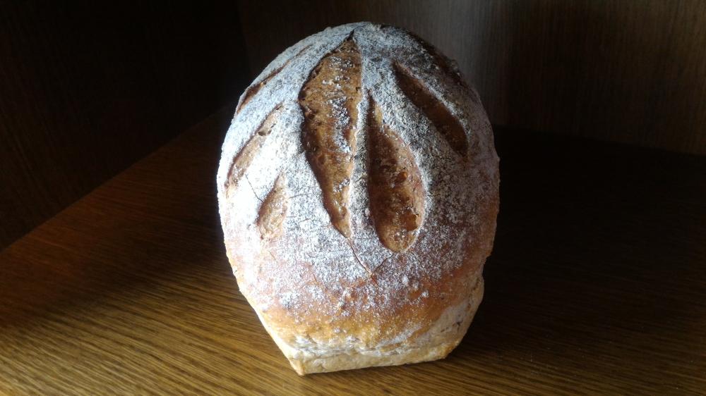 Photo d'un pain spécial